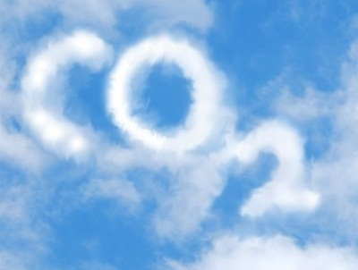 Carbon emission in clouds photo