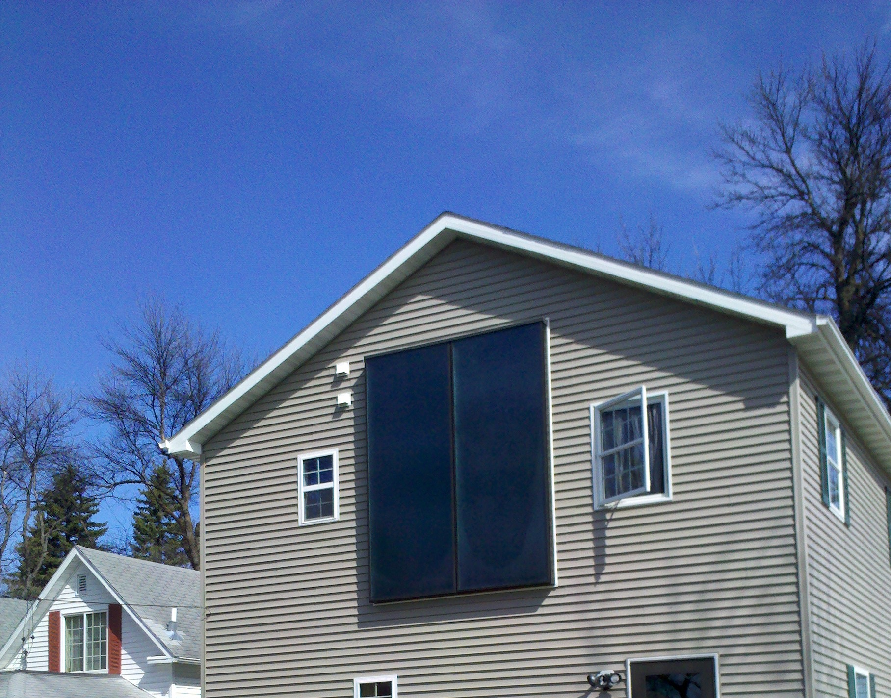 Solar Powered Furnace installe in Grand Forks, ND