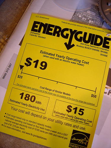 ENERGY STAR energy guide