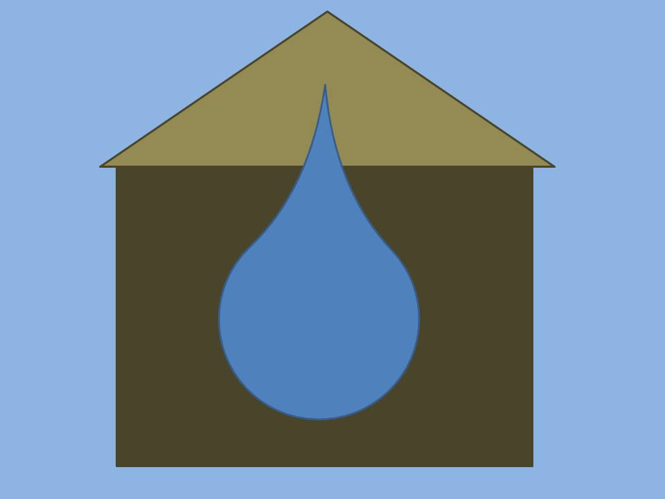 Water moisture issues in house photo for 401(e) blog