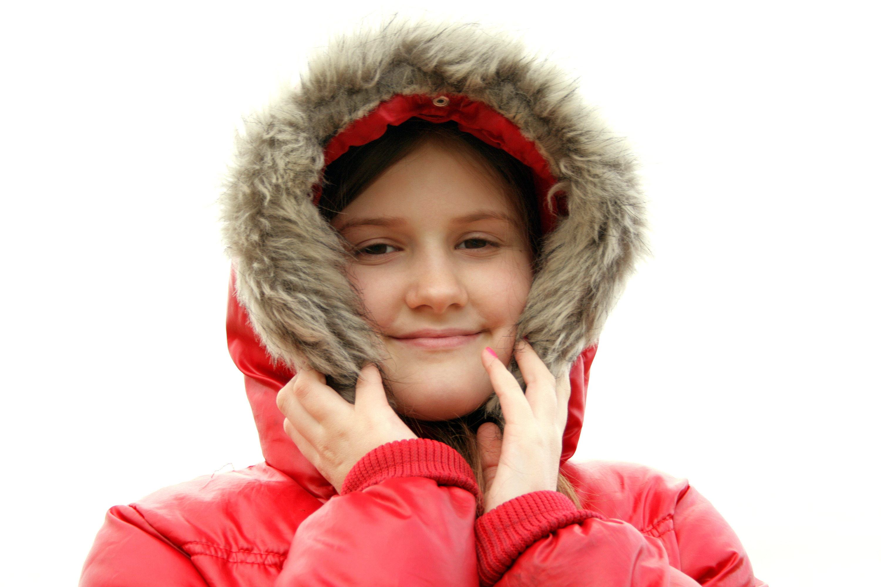 Girl in Winter Jacket