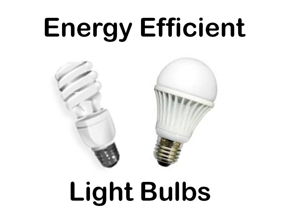 Energy Efficient Light Bulbs: CFL and LED